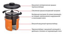 Термокастрюля Thermos KBG-4500 (4,5 литра) 450838