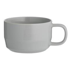 Чашка для каппучино Cafe Concept 400 мл серая TYPHOON 1401.830V