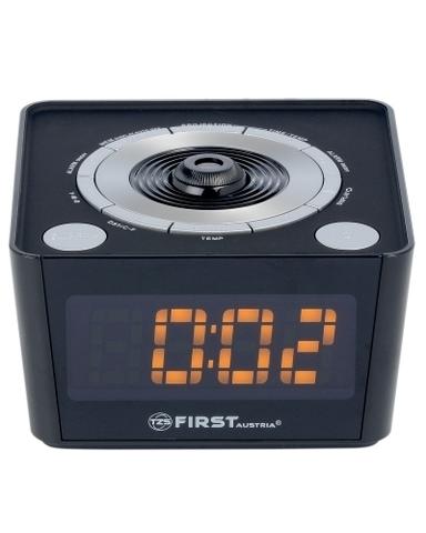 Радиочасы с проектором FIRST FA-2421-5 Black