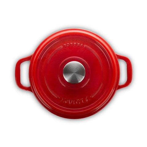 Кастрюля чугунная 26см (5,0л) INVICTA Rubis арт. 402260