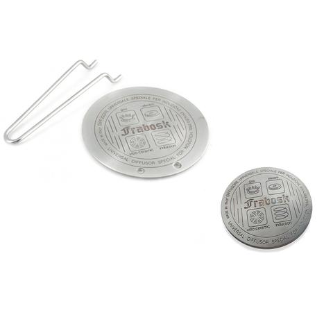 Комплект из 2 дисков-переходников Frabosk 12+22см для индукционной плиты