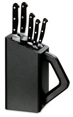 Набор Victorinox кухонный, 5 предметов, в подставке, черный 5.1176.53