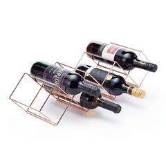 Стойка винная медная BarCraft Kitchen Craft BCWRWIRECOP