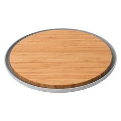 Доска разделочная бамбуковая с тарелкой 36,5*2см Leo BergHOFF 3950058