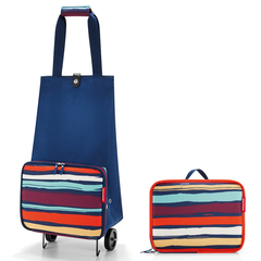 Сумка на колесиках Reisenthel Foldabletrolley artist stripes HK3058