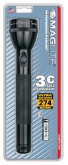 Фонарь MAGLITE, 3C, черный, 27,6 см, в блистере S3C016E