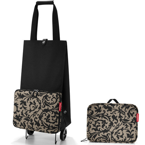Сумка на колесиках Reisenthel Foldabletrolley baroque taupe HK7027