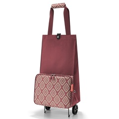 Сумка на колесиках Reisenthel Foldabletrolley diamonds rouge HK3065