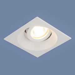 Алюминиевый точечный светильник 6069 MR16 WH белый Elektrostandard