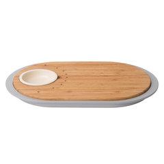 Набор 2пр для острой закуски с разделочной доской-подносом 39*23*2,5см Leo BergHOFF 3950060