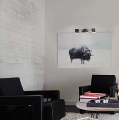 Светодиодный настенный светильник с поворотными плафонами Eurosvet Collin 20000/3 черный