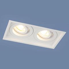 Алюминиевый точечный светильник 1071/2 MR16 WH белый Elektrostandard