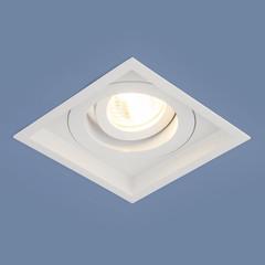 Алюминиевый точечный светильник 1071/1 MR16 WH белый Elektrostandard