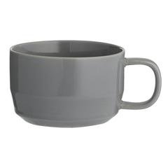 Чашка для каппучино Cafe Concept 400 мл темно-серая TYPHOON 1401.838V