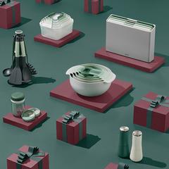Набор кухонных инструментов Joseph Joseph Elevate Carousel, 6 предметов, Sage 10540