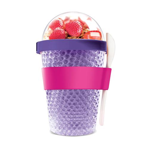Контейнер Asobu Chill yo 2 go (0,38 литра) фиолетовый
