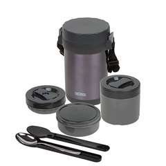 Многофункциональный термос для еды Thermos JBG-1800 Food Jar (1,8 литра) черный 656728