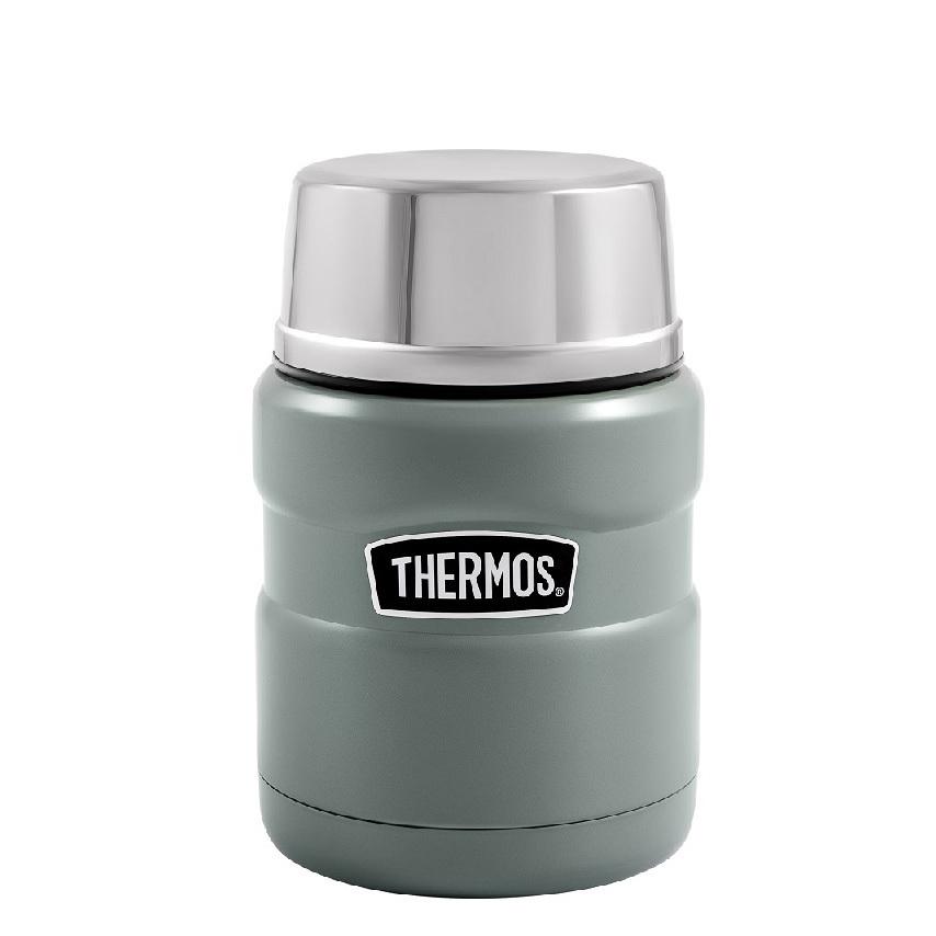 Термос для еды Thermos King SK3000-MGR (0,47 литра) салатовый
