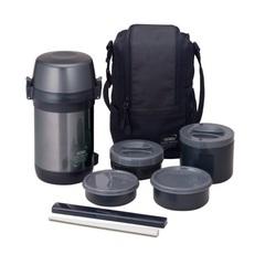 Многофункциональный термос для еды Thermos JLS-1601 Food (1,6 литра) черный 655967