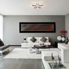 Светодиодный потолочный светильник с пультом управления Eurosvet Blade 90137/10 белый/чёрный
