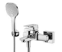 Salm 2701 Смеситель для ванны с коротким изливом WasserKRAFT Серия Salm 2700