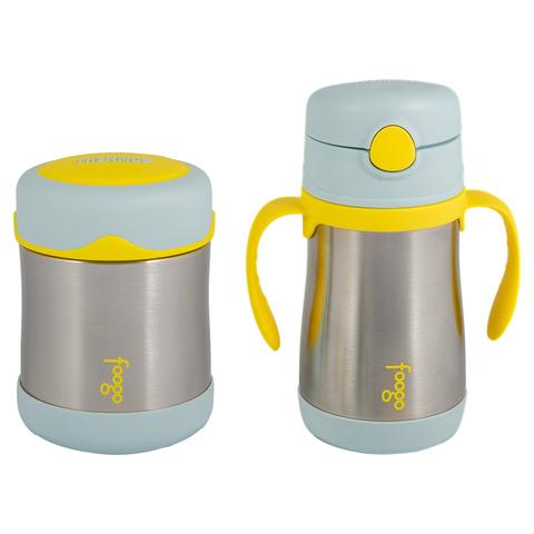 Детский набор Thermos B3000+BS535 BL (термос для еды, термос для напитков), голубой 303035