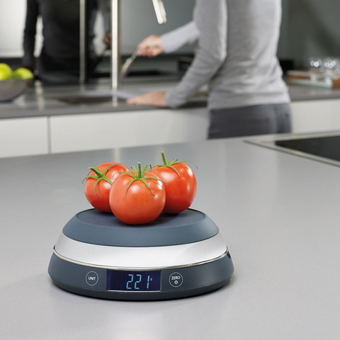 Весы кухонные Joseph Joseph Switchscale серые 40054