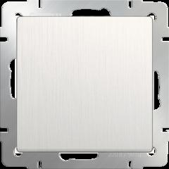 Выключатель одноклавишный проходной (перламутровый рифленый) WL13-SW-1G-2W Werkel