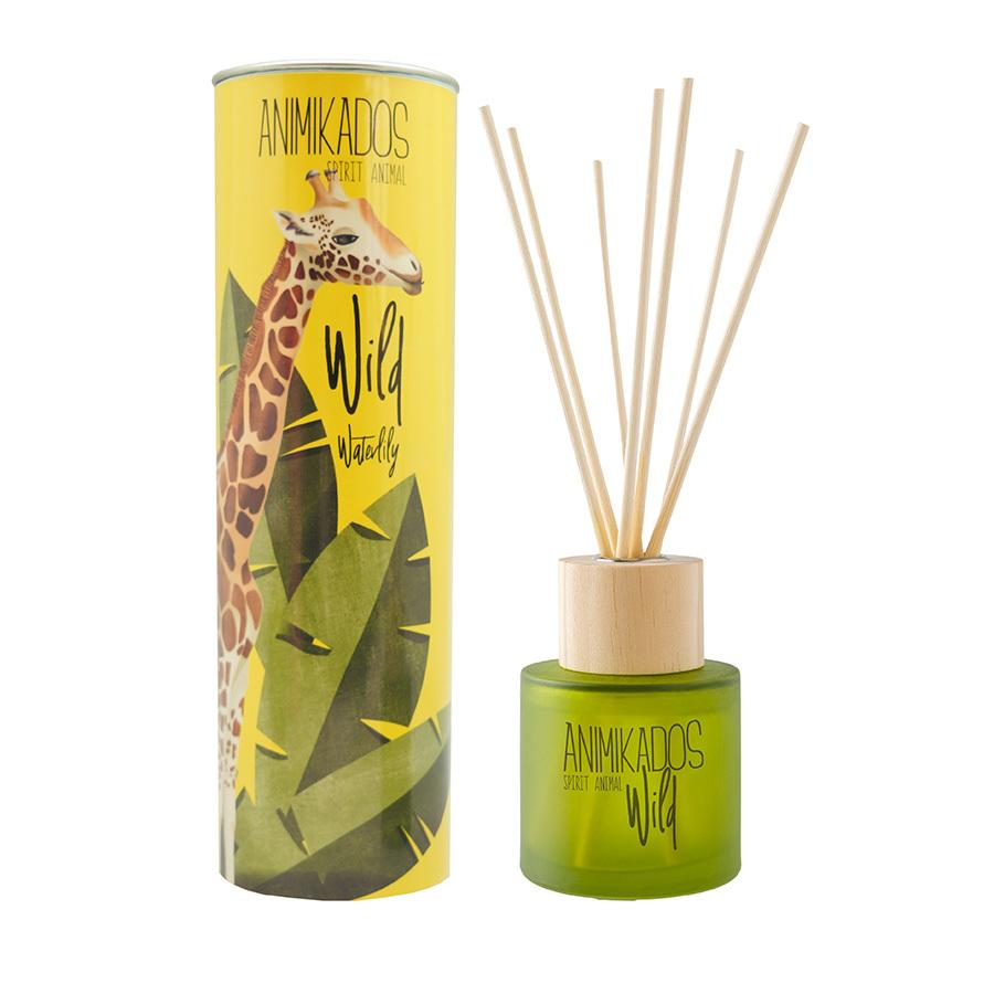 Диффузор ароматический Giraffe - водная лилия Wild 100 мл Ambientair MK100WLAW