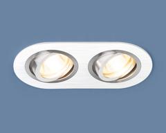 Алюминиевый точечный светильник 1061/2 MR16 WH белый Elektrostandard