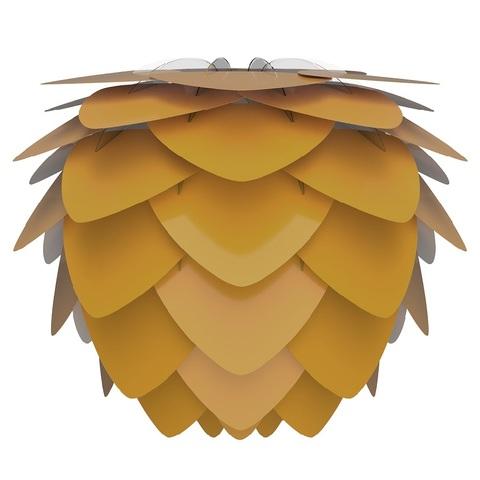 Плафон Aluvia, желтый,  D59, 48 см Umage 2137