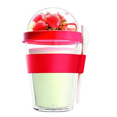 Контейнер Asobu Yo2go improved (0,36 литра) красный YO2GOS red