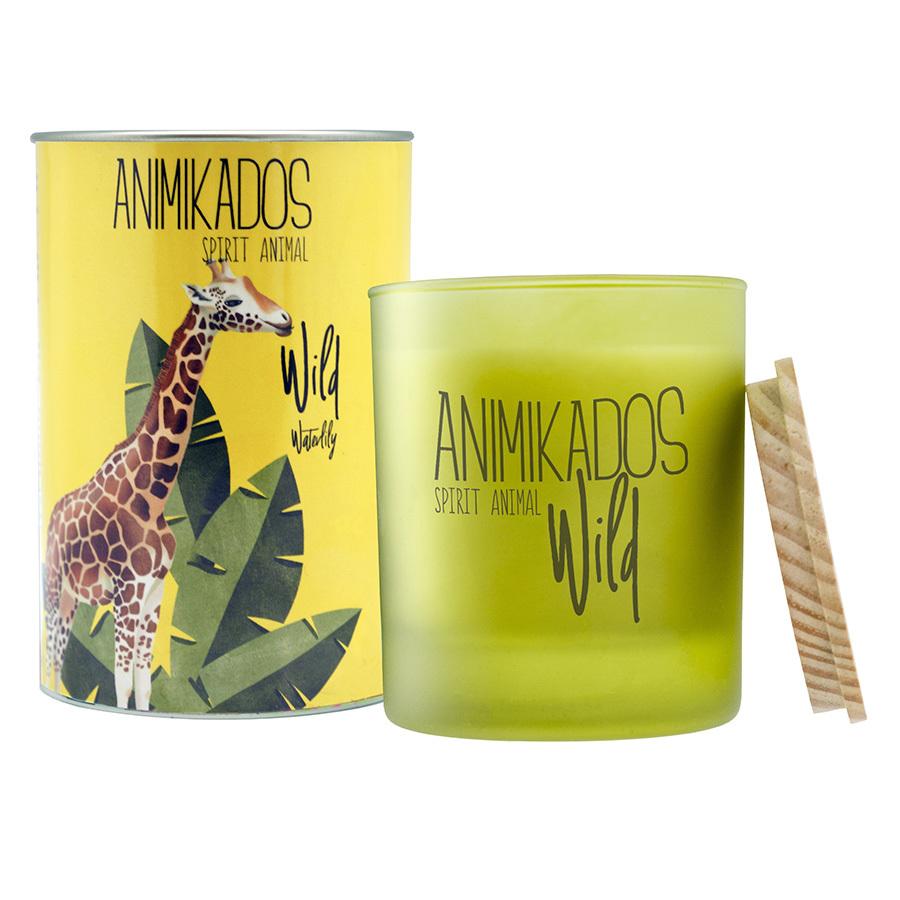 Свеча ароматическая Giraffe - водная лилия Wild 40 ч Ambientair VV040WLAW