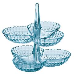 Набор из 2 менажниц Guzzini Tiffany голубой 19920181