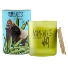 Свеча ароматическая Gorilla - амбровый Wild 40 ч Ambientair VV040ABAW