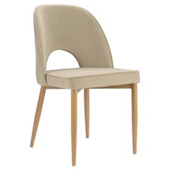 Кресло Berg Evelyn, велюр, бежевое BAAR-EVBK3662