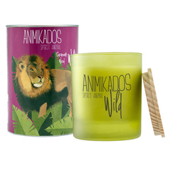 Свеча ароматическая Lion - древесный Wild 40 ч Ambientair VV040SWAW