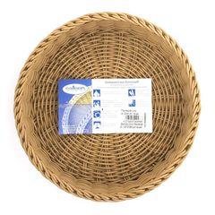 Корзина круглая d 22 см, h 5 см, цвет бежевый Westmark Saleen арт. 020844 041 01