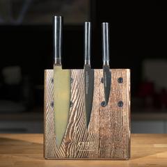 Комплект из 3 ножей Samura Mo-V и подставки