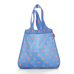 Сумка складная Reisenthel Mini maxi shopper azure dots AT4058