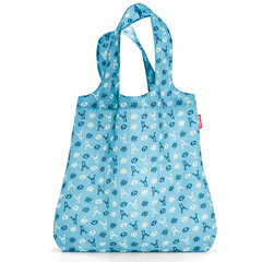 Сумка складная Reisenthel Mini maxi shopper bavaria denim AT4060