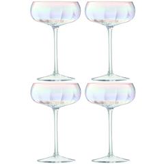 Бокал-креманка для шампанского Pearl 4 шт. LSA G1332-11-401