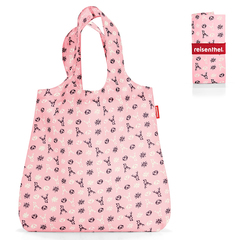 Сумка складная Reisenthel Mini maxi shopper bavaria rose AT3060