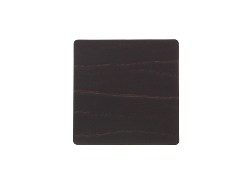 Подстаканник квадратный 10x10 см LindDNA Buffalo brown 98888