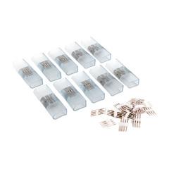 Переходник для неона LS001 220V 5050 RGB односторонний (10 шт.) PSL-12 Elektrostandard