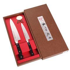 Набор из 2 кухонных ножей SATAKE Stainless Bolster HG8361