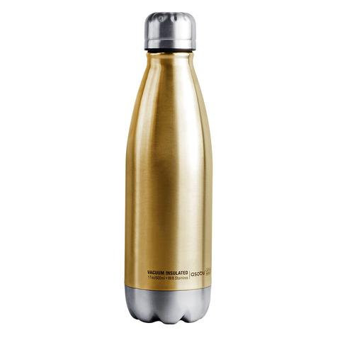 Термос-бутылка Asobu Central park (0,51 литра) золотистая