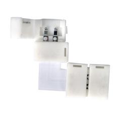 Угловой коннектор для одноцветной светодиодной ленты 3528, 2835 (10 шт.) LED 1L Elektrostandard