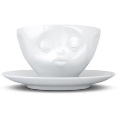 Чайная пара Tassen Kissing 200 мл белая T01.42.01
