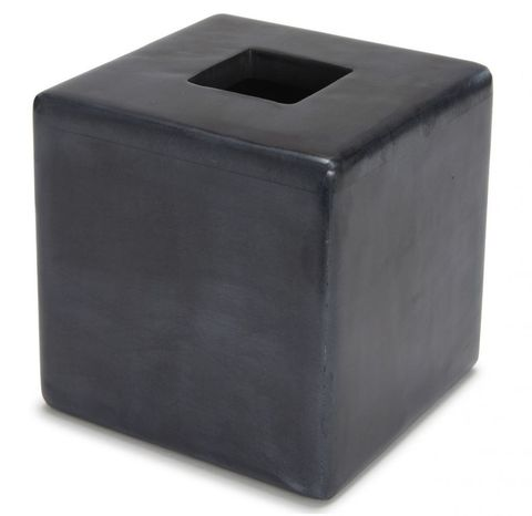 Бокс для салфеток (салфетница) Kassatex Noir ANO-TH-BK